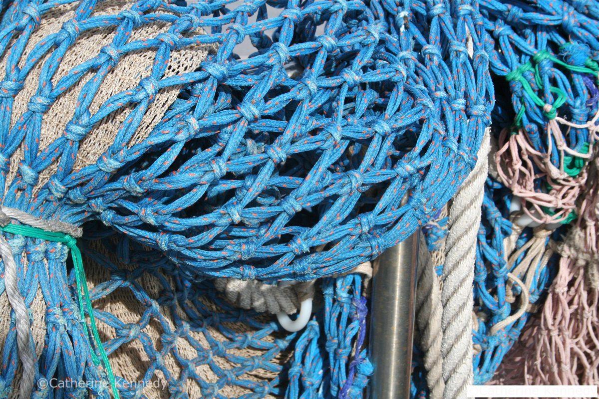 photo fishing nets drying