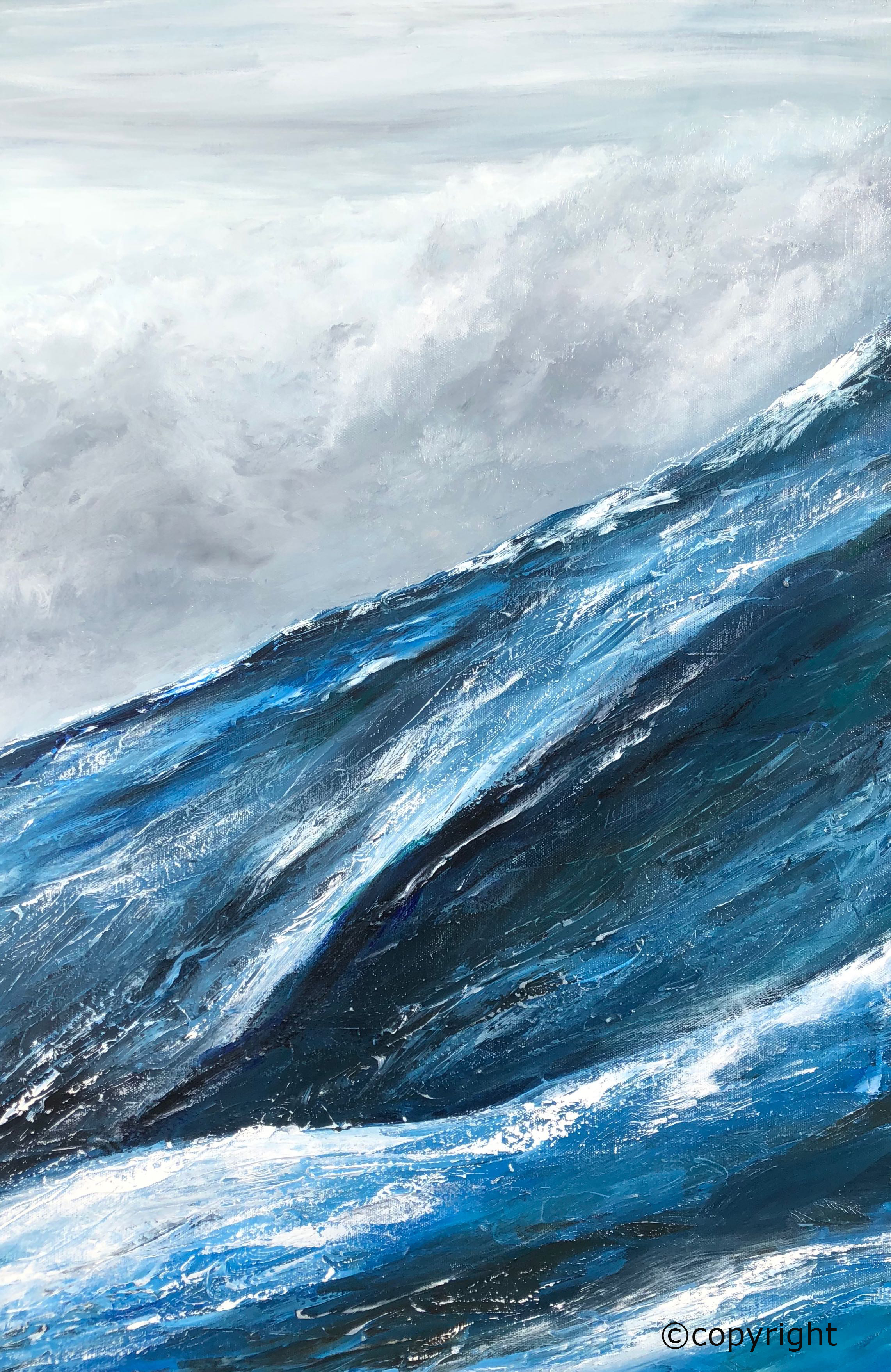 Stormy Sea stage 1