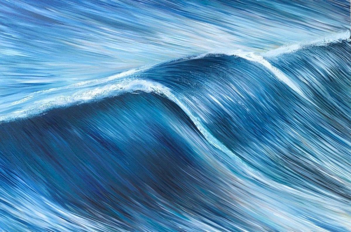 cobalt blue river