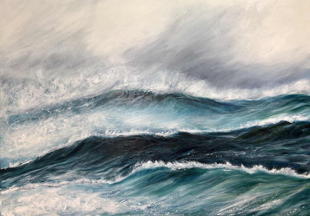 """Ice Storm"" giclee fine art print seascape in various sizes from £44 - £96"