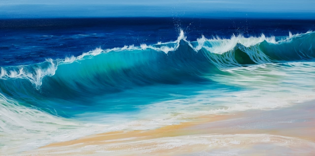 Ocean Beach Wave III giclee print in 3 sizes
